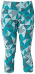 Mountain Equipment - Women's Cala Crop Legging - Kletterhose Gr 12 türkis/grau