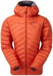 Mountain Equipment - Women's Earthrise Hooded Jacket - Daunenjacke Gr 16 rot/ora