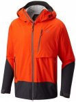 Mountain Hardwear - Superforma Jacket - Hardshelljacke Gr L rot/schwarz/orange