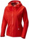 Mountain Hardwear - Women's Quasar Lite II Jacket Gr L;M;S;XL;XS rot;gelb