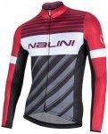 Nalini - Mizar A - Radtrikot Gr M;XL;XXL schwarz/grau/rosa;grau/schwarz