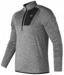 New Balance - NB Heat Half Zip - Laufshirt Gr M;XL grau