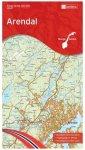 Nordeca - Wander-Outdoorkarte: Arendal 1/50 Auflage 2015