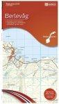 Nordeca - Wander-Outdoorkarte: Berlevag 1/50 Auflage 2012
