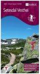 Nordeca - Wander-Outdoorkarte: Setesdal Vesthei 1/50 Auflage 2013