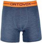 Ortovox - 185 Rock'N'Wool Boxer - Merinounterwäsche Gr L blau