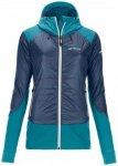 Ortovox - Women's Swisswool Piz Palü Jacket - Wolljacke Gr S blau/türkis
