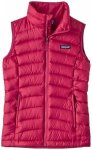 Patagonia - Girls' Down Sweater Vest - Daunenweste Gr L;M;S;XL rot