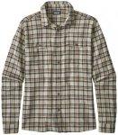 Patagonia - L/S Steersman Shirt - Hemd Gr L;M;S grau;grau/schwarz