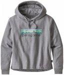 Patagonia - Women's Pastel P-6 Logo Uprisal Hoody - Hoodie Gr L;M;S;XL;XS grau/b