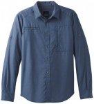 Prana - Kip L/S - Hemd Gr S blau