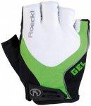 Roeckl - Imuro - Handschuhe Gr 7,5 weiß/schwarz/grün