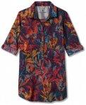 Royal Robbins - Women's Expedition Tunic Print - Bluse Gr L rot/schwarz