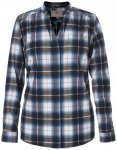 Royal Robbins - Women's Merinolux Plaid Flannel - Bluse Gr S grau/schwarz/blau