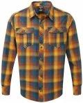 Sherpa - Indra Shirt - Hemd Gr M;S braun/beige/rot