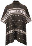 Sherpa - Women's Nando Poncho - Wolljacke Gr One Size schwarz/grau