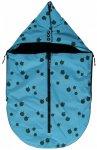 Smafolk - Kid's Small Sleeping Bag Apples - Fußsack Gr One Size  Blau/Türkis