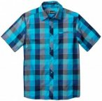 Smartwool - Everyday Exploration Retro Plaid S/S - Hemd Gr L blau/türkis