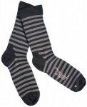 Triple2 - Huosm Merino Socks - Multifunktionssocken Gr L schwarz/grau