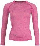 Triple2 - Women's Lang Shirt - Merinounterwäsche Gr L;M;S;XS grau;rosa