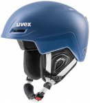 Uvex - Jimm - Skihelm Gr 59-61 cm blau/grau/schwarz