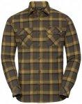 Vaude - Jerpen L/S Shirt II - Hemd Gr M braun/oliv