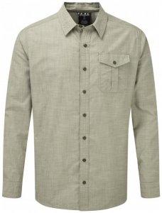 Sherpa - Lokta Long Sleeve Shirt - Hemd Gr XL grau