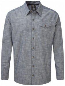 Sherpa - Lokta Long Sleeve Shirt - Hemd Gr S grau