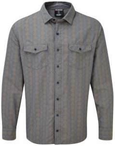 Sherpa - Surya L/S Shirt - Hemd Gr XXL grau
