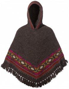 Sherpa - Women's Samchi Poncho - Wolljacke Gr One Size schwarz