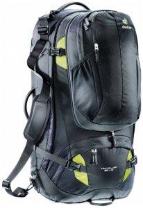 Deuter - Traveller 80 + 10 - Reiserucksack Gr 80 l - Regular schwarz/grau