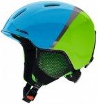 Alpina - Kid's Carat LX - Skihelm Gr 48-52 cm blau/grün/schwarz