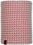 Buff - Dana Knitted & Polar Neckwarmer - Schal Gr One Size grau/rot/rosa