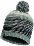 Buff - Knitted & Polar Hat Neper - Mütze Gr One Size grau/schwarz
