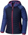 Columbia - Women's Powder Lite Hooded Jacket - Kunstfaserjacke Gr S - Regular bl