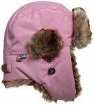 Isbjörn - Kid's Squirrel Winter Cap - Mütze Gr 44/46 rosa/braun/grau