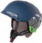 SHRED - Half Brain D-Lux - Skihelm Gr XS-M blau/grau/schwarz