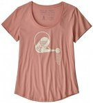 Patagonia - Women's Eat Local Rain Can Organic Scoop T-Shirt - T-Shirt Gr L;M;S;