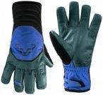 Dynafit - Free Touring Leather Gloves - Handschuhe Gr S schwarz/blau/türkis