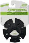 Komperdell - Vario Winterteller - Ersatzteller Gr 8,5 cm grau/schwarz