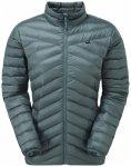 Mountain Equipment - Women's Earthrise Jacket - Daunenjacke Gr 10 grau/schwarz