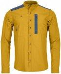Ortovox - Merino Ashby Shirt L/S - Hemd Gr XL orange