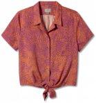 Royal Robbins - Women's Bergen S/S - Bluse Gr L;M;S;XS türkis/grau/grün