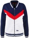 Alprausch - Women's Bärli-Baba Teddy Fleece Jacket Gr L;M;S;XS blau/weiß/schwa