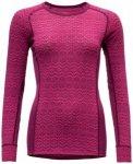Devold - Vams Woman Shirt - Merinounterwäsche Gr L;M;S;XS schwarz/grau;grau/lil