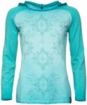 Chillaz - Women's Bergamo Ornament Cotton - Longsleeve Gr 38 türkis