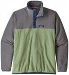 Patagonia - Micro D Snap-T Pullover - Fleecepullover Gr XL grau/grün