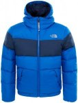 The North Face Moondoggy 2.0 Down Hoodie Jacket Boys Bright Cobalt Blue M 2017 W