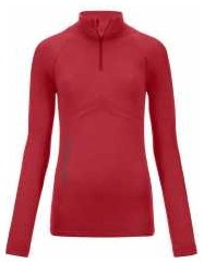 Competition 230 Zip Neck W hot coral Gr. XS