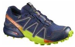 Speedcross 4 GTX blau gruen UK: 12, EU: 47 1/3